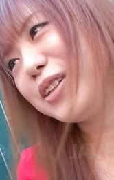 Lesbian Outdoor Porn - Noriko Kago Asian sucks phallus insisting on licking the head